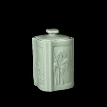 弘宝汝窑 粉青釉 储香罐茶叶罐 礼盒包装
