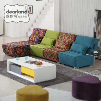 蝶依斓三人客厅沙发 组合现代简约SRS215
