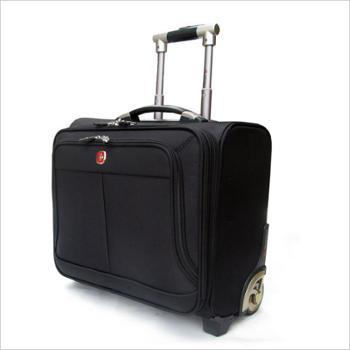 质量超好拉杆箱18寸旅行登机箱行李箱商务拉杆箱18寸男女电脑包黑