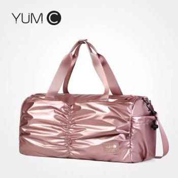 美国YUMC时尚运动健身包男背包男士训练背包女士背包健身手提包大容量瑜伽游泳适用