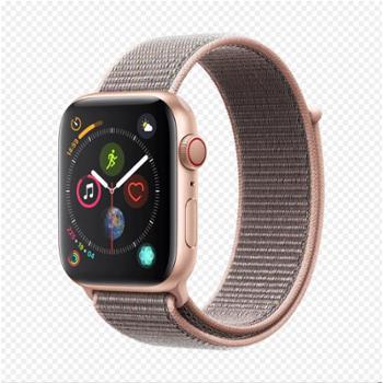【现货速发 12期免息】Apple Watch Series 4智能手表 GPS+蜂窝网络款版 运动版铝金属表壳