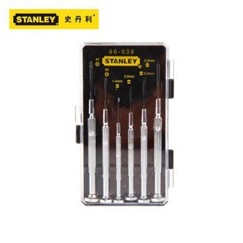 STANLEY史丹利工具五金6件套精密螺丝刀66-039-23