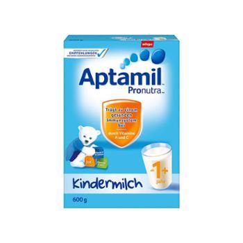 德国原装进口爱他美(Aptamil)婴幼儿奶粉1+段(适合1岁以上)600克