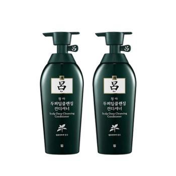 【2件装】韩国Ryoe(吕)控油去屑护发素(绿吕)400ml