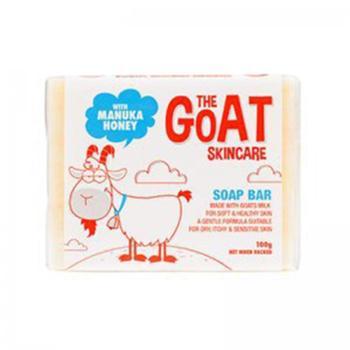澳洲(GoatSoap)保湿滋润天然羊奶手工洗脸沐浴皂(含麦卢卡蜂蜜)100克