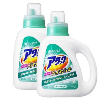 【2件装】花王绿色草本清香酵素洗衣液900克/瓶