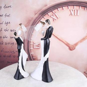 煌嘉工艺家居装饰品情侣摆件工艺品客厅摆设结婚情人礼物欧式现代时尚