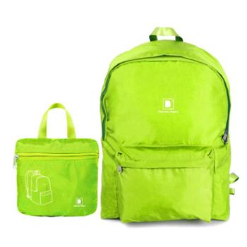 DI 大容量时尚休闲旅行双肩包 超轻防水运动折叠背包
