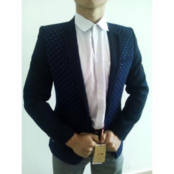MINGHAOCHE青少年休闲修身款男士小西服单西装男韩版潮花外套学生男版男装