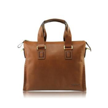 意大利TOMMASI正品男士手提包商务横款横款公文包男真皮包包