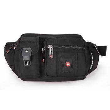 瑞士军刀SWISSGEAR腰包户外运动健身时尚休闲腰包