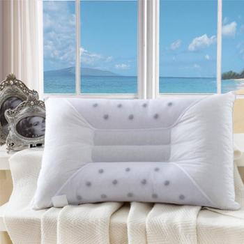 爱克菲尔磁性保健枕决明子枕头全棉舒适枕芯护颈枕头包邮