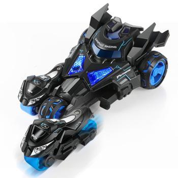 豆豆象弹射摩托小汽车玩具男孩回力车惯性电动赛车模型儿童宝宝0-2-3岁