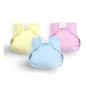 宝宝婴儿竹浆纤维尿布裤 全纯棉透气布尿裤防漏隔尿兜