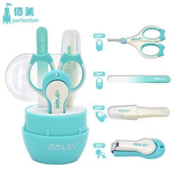 婴儿指甲剪新生儿指甲钳宝宝儿童指甲剪刀套装安全防夹肉