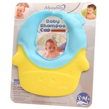 妙心硅胶可调节护耳小孩防水宝宝洗发帽洗头神器儿童浴帽婴儿洗澡