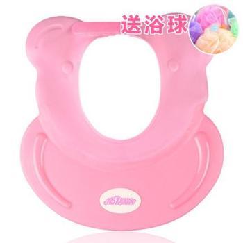 宝宝洗头帽儿童洗发帽防水护耳弹性硅胶幼婴儿洗澡浴帽可调节神器