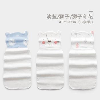 宝宝吸汗巾 婴儿纱布汗巾纯棉幼儿园儿童隔汗巾垫背巾0-3-6岁全棉