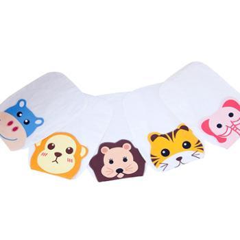 宝宝纯棉吸汗巾婴儿童隔汗巾宝宝加大汗垫背巾幼儿园0-1-3-4-6岁