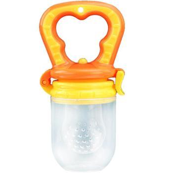 蕾雅希尔婴儿童食物咬咬袋水果蔬乐奶嘴辅食训练器宝宝牙胶磨牙棒