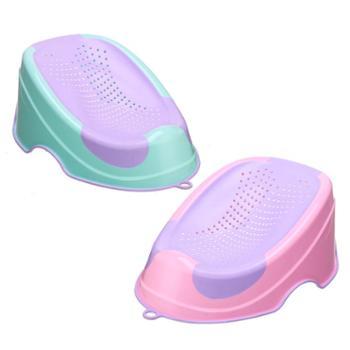 婴儿洗澡盆沐浴架躺板新生儿可坐躺防滑通用宝宝浴床座椅凳冲凉架