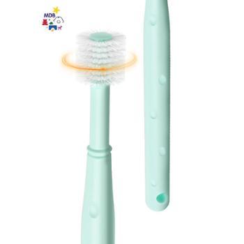mdb婴儿牙刷360幼儿童宝宝牙刷0-1-2-3-6岁软毛乳牙小孩刷牙训练