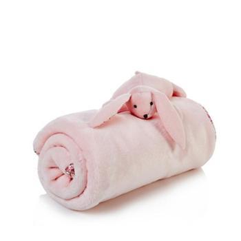 法国婴儿珊瑚绒毯新生儿毛毯宝宝用春夏秋冬盖毯儿童盖被毯子