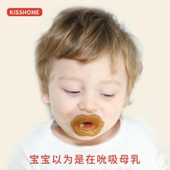 宝宝全硅胶安抚奶嘴超软婴儿0-6-18个月新生儿安慰奶嘴安睡型奶嘴