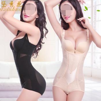 塑身女无痕燃脂塑形内衣服连体收腹束腰美体产后瘦身束缚