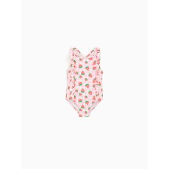 ZARA 新款 婴儿幼童 草莓泳衣 03339569620