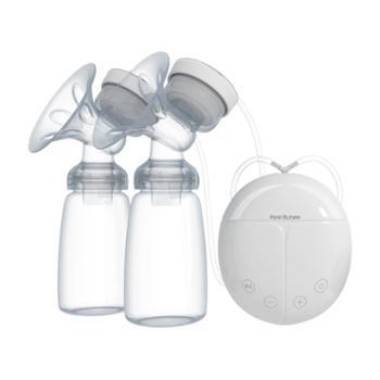 孕产妇双边电动吸奶器吸乳挤奶器吸力大自动 按摩产后拔奶催乳器