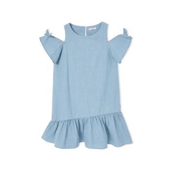 巴拉巴拉童装女童连衣裙儿童公主裙中大童裙子夏装