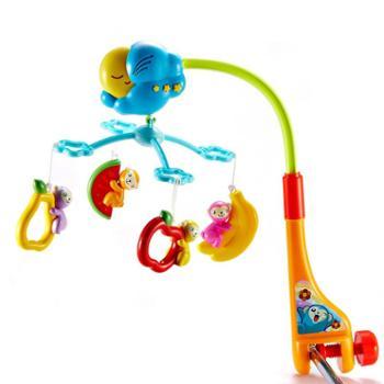 澳贝迪迪兔床铃新生婴儿床铃玩具音乐旋转婴儿0-6个月哄睡床铃