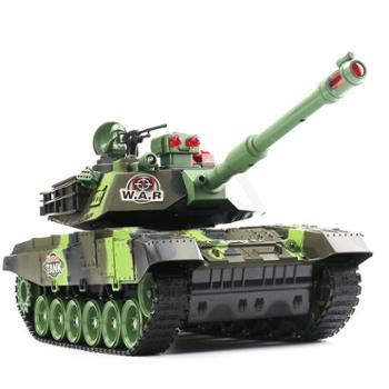 遥控坦克模型超大亲子对战可发射充电动儿童越野玩具金属男孩汽车