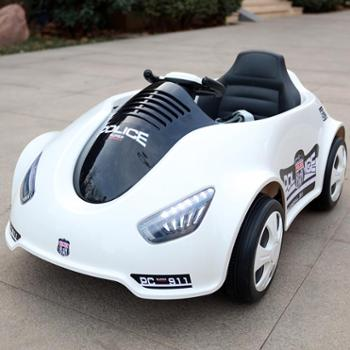 萨玛特婴儿童电动车四轮遥控汽车可坐男女小孩摇摆童车宝宝玩具车