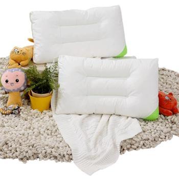 富安娜可水洗枕头单人儿童护颈枕芯羽丝绒枕床上用品