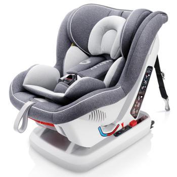 轩泽儿童安全座椅汽车用婴儿宝宝车载简易便携坐可躺isofix