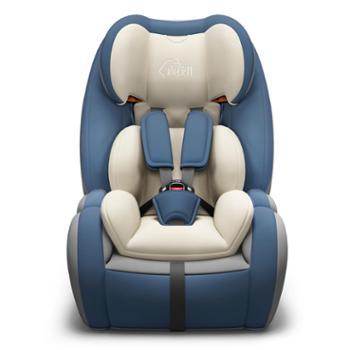 尚孩儿儿童安全座椅汽车用宝宝简易便携小孩增高垫车载isofix接口