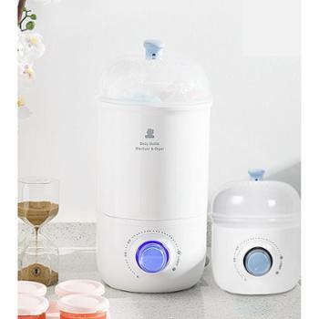 小白熊 奶瓶消毒器带烘干蒸煮婴儿消毒柜玩具消毒锅暖奶消毒