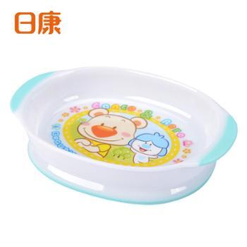 日康婴幼儿宝宝防滑餐盘儿童餐具学食餐碗微波加热餐具