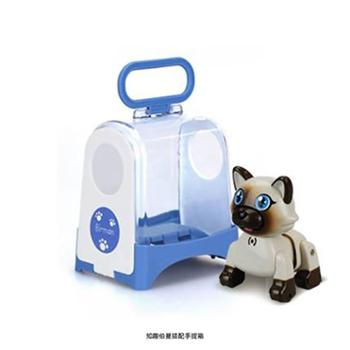 Silverlit/银辉 电动知趣猫狗唱歌跳舞 音乐仿真电子宠物3-6岁儿童玩具套装