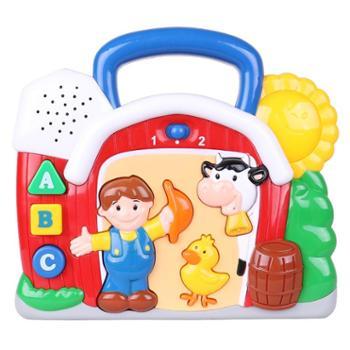 winfun/英纷 小农场学习屋宝宝多功能音乐早教益智玩具