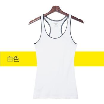 莫代尔 工字背心女打底纯棉运动健身瑜伽美背外穿内搭撞色无袖吊带背心女