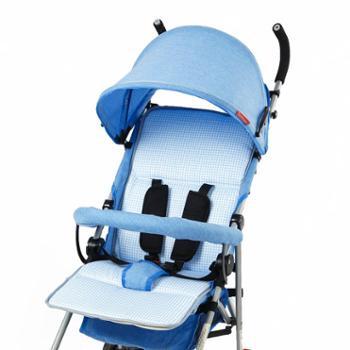 MMIIRRAAJ. 婴儿车硬板坐垫纯棉宝宝推车伞车凉席垫子靠垫防下陷防驼背睡垫夏