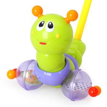 HUILE TOYS/汇乐玩具 推推乐摇摆手推车宝宝学步益智拖拉玩具推杆动物手拉车