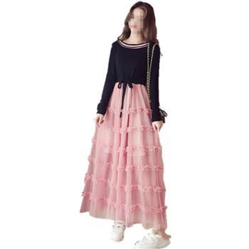 哺乳衣服春秋季外出时尚喂奶上衣秋冬装外穿辣妈款产后哺乳连衣裙