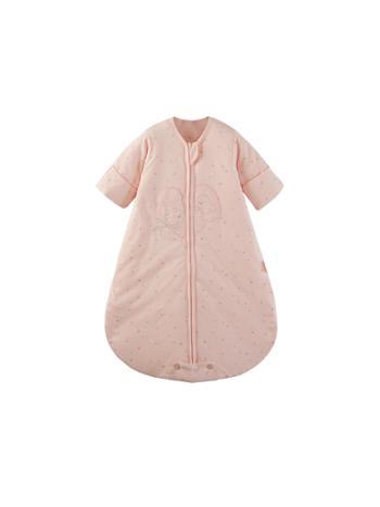 呼西贝 新生儿睡袋 冬款夹棉封口式 防踢被 宝宝连体睡衣