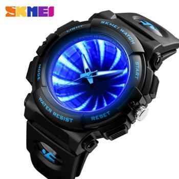 时刻美1521手表潮流个性手表男防水概念虫洞