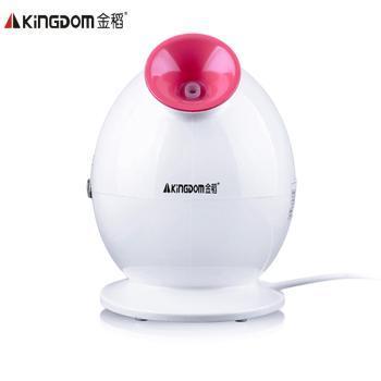 金稻KD-233A蒸脸器补水美容仪喷雾机离子QQ蒸脸机家用KD-233珍珠白