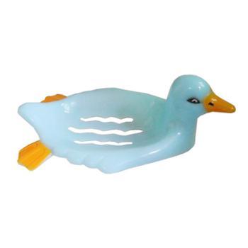 小鸭创意时尚香皂盒肥皂盒沥水收纳架可爱小鸭造型